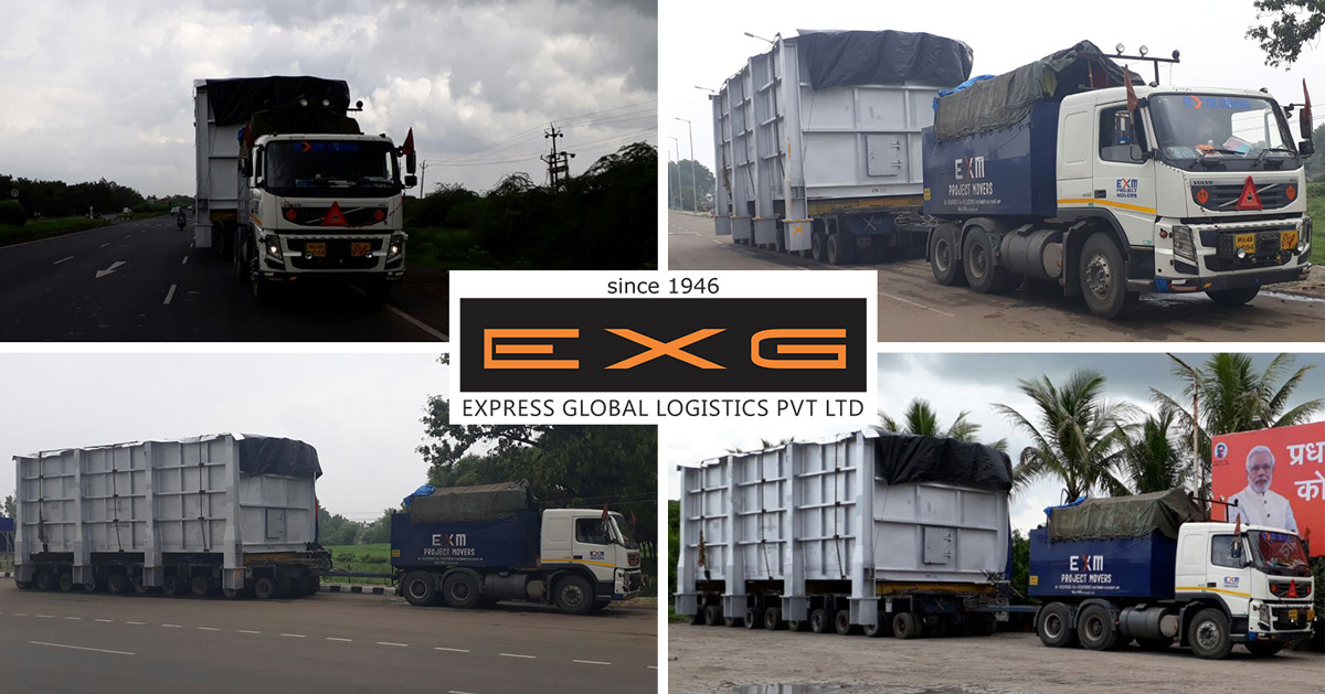 EXG transports Convection Module from Por to Gadepan